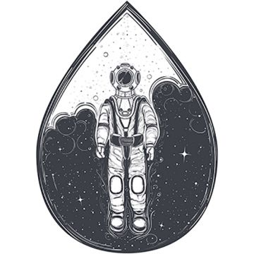 astronaut  cosmonaut in a space  and helmet, Astronaut, Spaceman, Gravity PNG and Vector