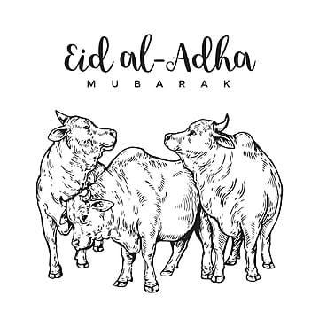 vintage hand drawing eid al adha greeting card sketch card illustration, Islamic, Eid Al-adha, Hajj PNG and Vector