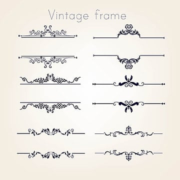 vintage border png vectors psd and clipart for free download