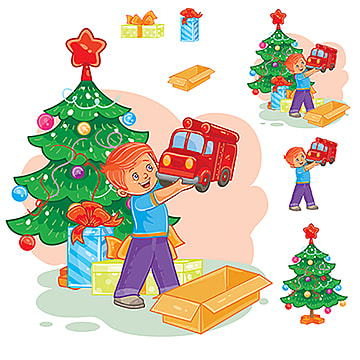 Christmas Present Png, Vector, PSD, and Clipart With ...