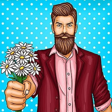 Beard Png Images Vector And Psd Files Free Download On Pngtree