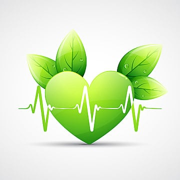 Il Cuore Di Verde Immagini Png Vettori E File Psd Scarica Gratis
