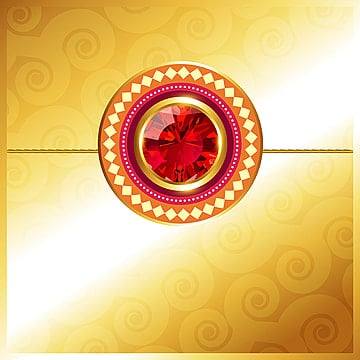 golden rakhi design, Raksha, Rakshabandhan, Rakhi PNG and Vector