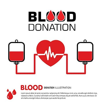 Blood Donation PNG Images | Vector and PSD Files | Free