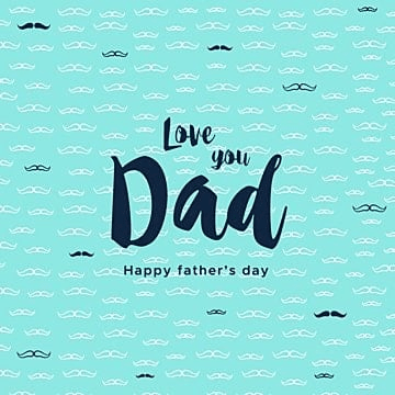 Father's day gift card, Father, Typography, Dad PNG and Vector