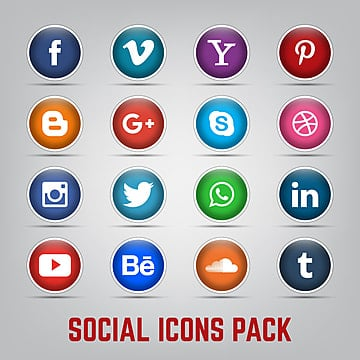 Youtube Icon Vector Video Element Social Media For Content