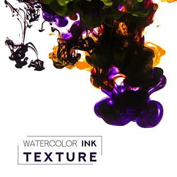 purple and yellow ink in water, Water, Cover, Paint PNG and Vector