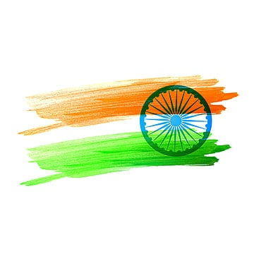 indian flag made with color strokes flag of india, Watercolor Flag, Flag Of India, India PNG and Vector