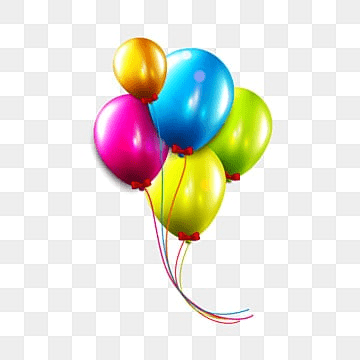 Birthday Balloons Png Images Download 452 Png Resources With