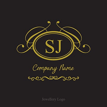 Jewellery logo with golden shape, Jewelry, Wedding, Gold PNG and Vector