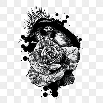 hand drawn roses png images vectors and psd files free download