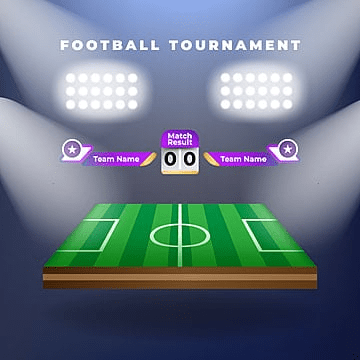 Vector of football team with scoreboard, Soccer, Football, Score PNG and Vector