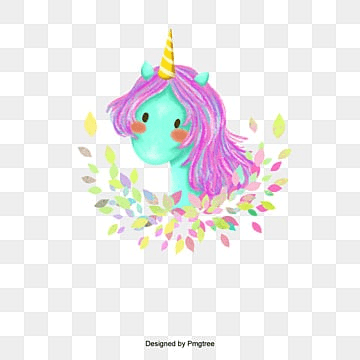 Cute Magical Unicorn Head Vector Design, Unicorn, Head, Cute PNG and PSD