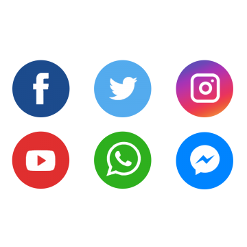 Social Media Icons Png, Vector, PSD, and Clipart With Transparent