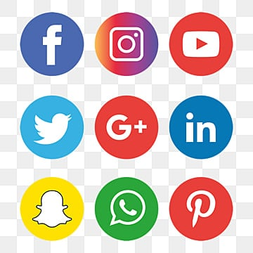Social Media Icons Png Images 2400 Vector Icon Packs Free Download On Pngtree