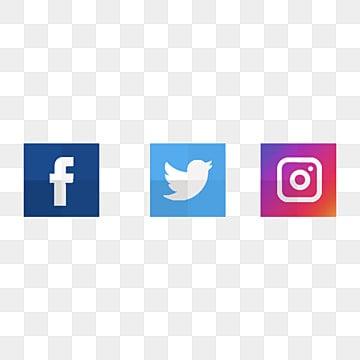 โลโก้ไอคอนโซเชียลมีเดีย, โลโก้ภาพตัดปะ, พูดเบาและรวดเร็ว, ไอคอน Twitter PNG และ PSD