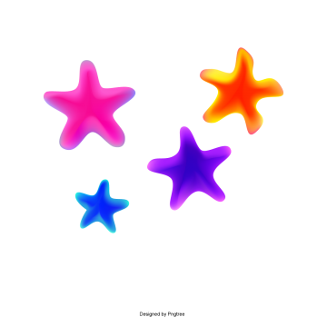 colorful flat geometry color stars, Color, Flat, Geometric PNG and Vector