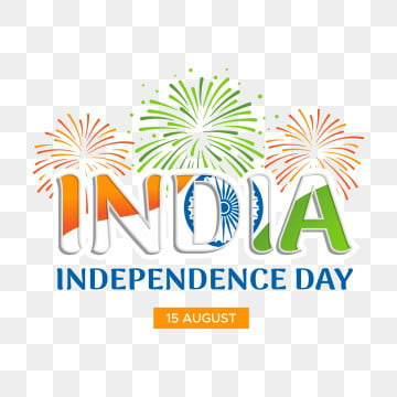 india independence day on the background of fireworks, August, Holiday, Freedom PNG and Vector