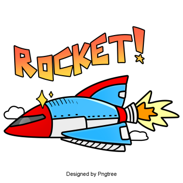 aerospace rocket cartoon hand painted, Universe, Space, Rocket PNG and PSD