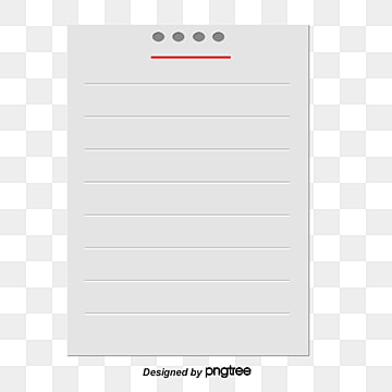 Notebook Paper Png Images Vectors And Psd Files Free
