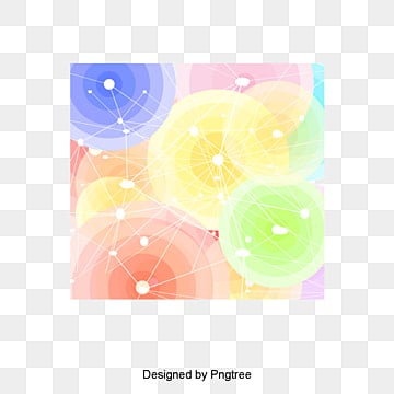 colorful creative elements, Loop, Round, Rotation PNG and PSD