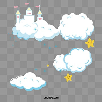 Cartoon Clouds, Clouds, Baiyun, Clouds PNG and Vector