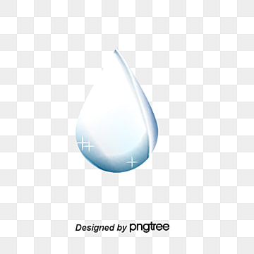 Blue Water Drops Vector Material Dynamic