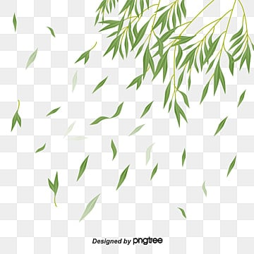 floating leaves, Leaf Clipart, Spring, Green Leaves PNG Image and Clipart