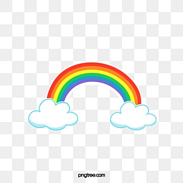 Rainbow Png Images Vectors And Psd Files Free Download On Pngtree
