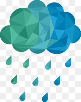 Geometric clouds, Geometric Shape, Rain, Clouds PNG and Vector