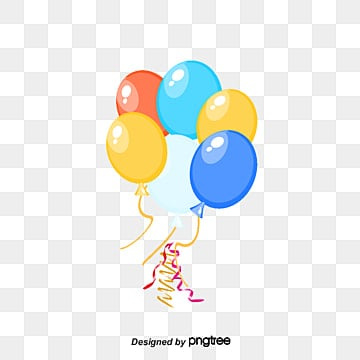 colored balloons, Color, Balloon PNG and PSD