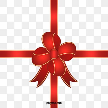 Christmas Bow Png Vector Psd And Clipart With Transparent