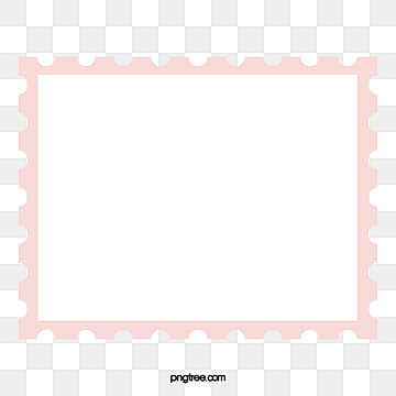 Postcard Stamps Border Vector Stamp PNG And