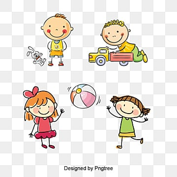 Kids Playing Png, Vector, PSD, and Clipart With Transparent