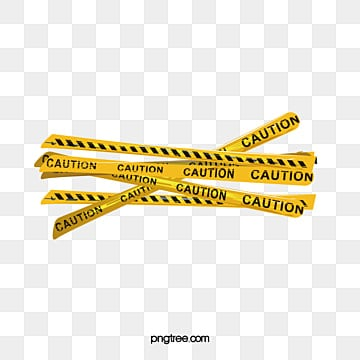 Warning Tape PNG Images | Vector and PSD Files | Free