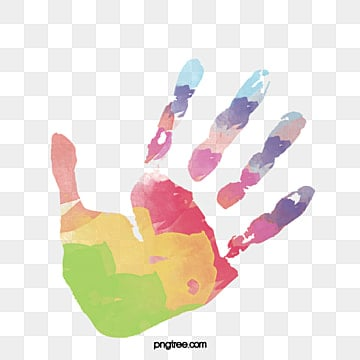 Handprint Clipart PNG Images | Vector and PSD Files | Free Download on  Pngtree