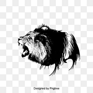 Sư tử bằng tay, Sư Tử, Vào đầu., Sư Tử. png và psd