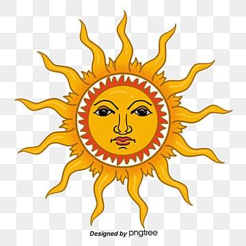 O sol, O Sol, A Luz Do Sol, Elementos SolaresImagem PNG