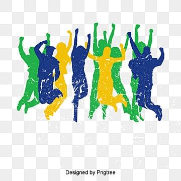 O Carnaval., O Carnaval, Personagens, A MultidãoPNG e Vector