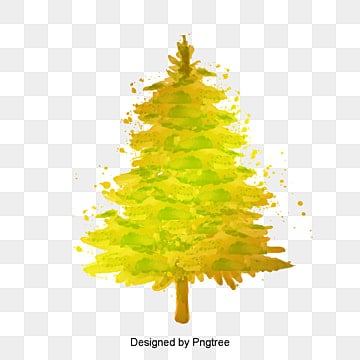 Golden Christmas Tree Gold PNG Image And Clipart
