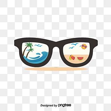 8d8fd37ffef6 Beach Glasses PNG Images