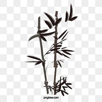 대나무, 대나무, 수묵화, 수묵 대나무 PNG 이미지 및 클립 아트