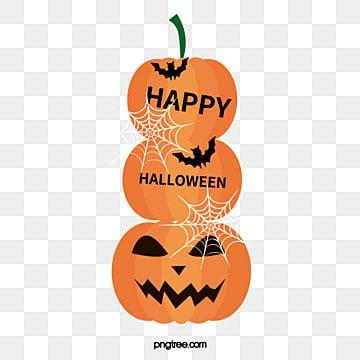 HAPPY,HALLOWEEN, Pumpkin, Cartoon Pumpkin, Halloween PNG Image