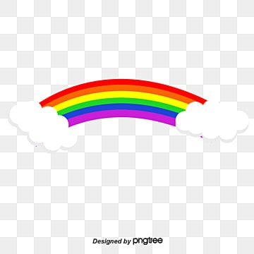 rainbow, Rainbow, Cartoon, Colorful PNG and Vector