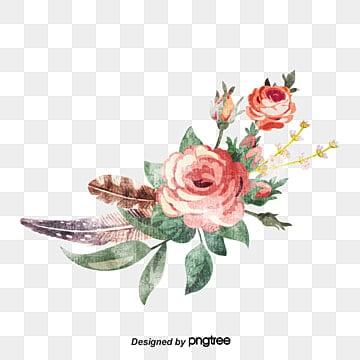 Linda guirlanda de Flores, Linda Coroa, Coroas De Flores, Decoração De FloresImagem PNG