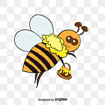 bee png  vectors  psd  and clipart for free download pngtree clipart cute bee vector cute bee cartoon vector