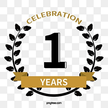 1st Anniversary Png Images Vectors And Psd Files Free