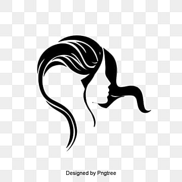 Creative Hair logo, Hairdressing, Hairdressing, Women Avatar PNG and Vector