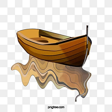 Wooden Boat Fishing Boating PNG And PSD