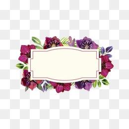 Flower Box, Flowers, Watercolor Flower, Purple Flower Bouquet PNG and Vector